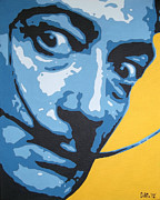 Iconic Paintings - Dali by Dan Carman