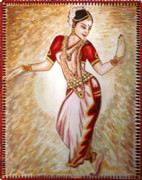 Dance Paintings - Dancer 1 by Harsh Malik