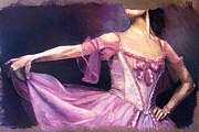 Dancer Pastels Originals - Dancer by Denise Laurin