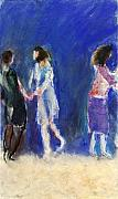 Ballroom Painting Originals - Dancers by Bill Collins