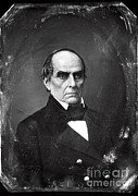 Daniel Framed Prints - Daniel Webster Framed Print by Photo Researchers