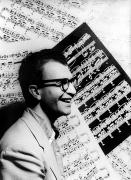 Sheet Framed Prints - Dave Brubeck (1920- ) Framed Print by Granger