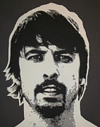 Iconic Paintings - Dave Grohl by Dan Carman