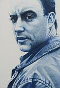 Musician Drawings Prints - Dave Matthews  Print by Joshua Morton