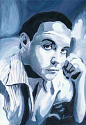 Wendy Butcher Art - Dave Matthews by Wendy Butcher