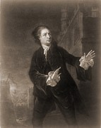 1750s Photos - David Garrick 1717-1779, English Actor by Everett