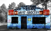 Davis Photos - Davis Grocery by Steven  Michael