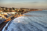 The Main Art - Dawlish Sea wall by Rob Hawkins