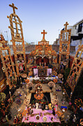 San Miguel Photos - Day of the Dead Altar by Jeremy Woodhouse
