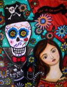 Day Of The Dead Prints - Day Of The Dead Print by Pristine Cartera Turkus