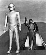 Stood Metal Prints - Day The Earth Stood Still Metal Print by Granger