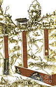 De Re Metallica, Mine Shafts, 16th Print by Science Source