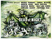 1945 Movies Framed Prints - Dead Of Night, 1945 Framed Print by Everett