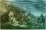J.g Prints - Death Of General Warren, 1775 Print by Photo Researchers