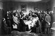 Deathbed Art - Death Of Lincoln, 1865 by Granger