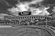 Lsu Posters - Death Valley Poster by Scott Pellegrin