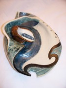 Landscapes Ceramics - Deep Sea Flora- view 3 by Jason Galles