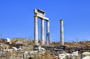 Ancient Greece Framed Prints - Delos Framed Print by Joana Kruse