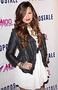 Kick Off Framed Prints - Demi Lovato In Attendance For Z100 Framed Print by Everett