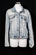Jacket Photo Posters - Denim Jacket Poster by Joana Kruse