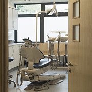 Office Space Prints - Dentist Chair Print by Iain Sarjeant