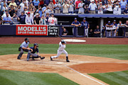 Jeter Photos - Derek Jeters 3000th hit 4 of 8 by James Jenks