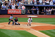 Jeter Photos - Derek Jeters 3000th hit 5 of 8 by James Jenks