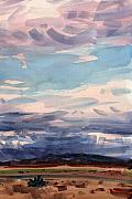 New Mexico Originals - Desert Skyscape by Donald Maier
