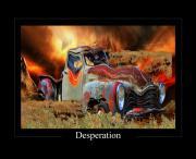 Despiration Print by Calum Faeorin-Cruich