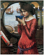 Destiny Metal Prints - Destiny Metal Print by John William Waterhouse
