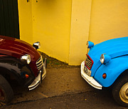 Bug Eye Prints - Deux deux chevaux Print by Patrick  Flynn