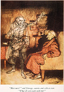 Charles Dickens Paintings - Dickens: A Christmas Carol by Granger
