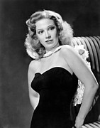 Bare Shoulder Prints - Dinah Shore, Ca. 1943 Print by Everett