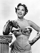 1950s Portraits Photo Prints - Dinah Shore, Ca. Early 1950s Print by Everett