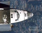 Docking Prints - Discovery Docking With Iss, Sts-114 Print by NASA / Science Source