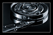Monocromatico Photos - Disk Drive Internals 2 by Peter OHara