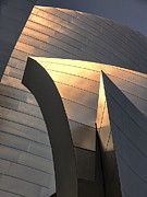 Frank Gehry Prints - Disney Gold  Print by Chuck Kuhn