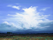 Big Skies Paintings - Distant change by Colin Perini