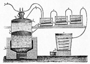 Distillation Framed Prints - Distillation Apparatus, 19th Century Framed Print by Cci Archives