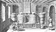 18th Century Prints - DISTILLERY, 18th CENTURY Print by Granger