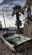Back Road Digital Art Prints - Docked in the Desert Print by Ron Regalado