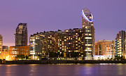 Canary Metal Prints - Docklands apartments Metal Print by David French