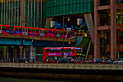 Docklands London Print by Dawn OConnor