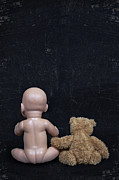 Naked Back Photos - Doll And Bear by Joana Kruse