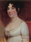 Madison Framed Prints - Dolley Madison Framed Print by Photo Researchers