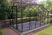 Frame House Photos - Domestic Greenhouse Under Construction by Mark Williamson