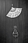 Antique Fan Framed Prints - Door Knocker Framed Print by Joana Kruse