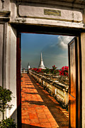 Phetchaburi Framed Prints - Door To Enlightenment Framed Print by Adrian Evans