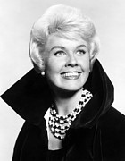Doris Day Framed Prints - Doris Day, Ca. Early 1960s Framed Print by Everett
