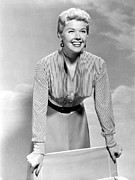 Short Skirt Prints - Doris Day, Circa 1950s Print by Everett